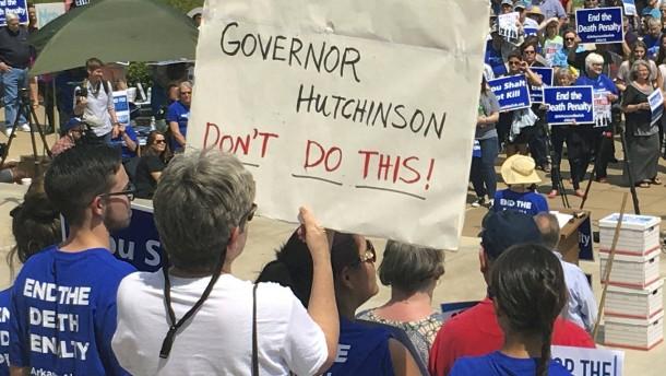 Deshalb darf Arkansas vorerst niemanden hinrichten