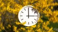 In der Nacht auf Sonntag Uhren vorstellen