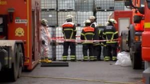 Chemieunfall in Hamburg