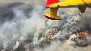 Das Feuer in Portugal wütet weiter