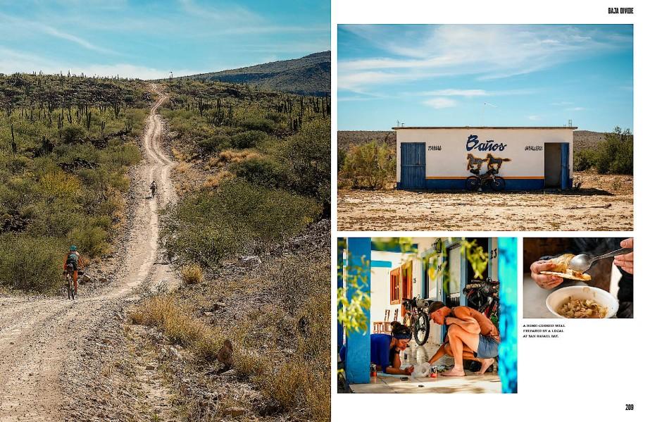 Neben den Bildern der Fahrradtouren haben die Autoren auch Tipps für die Verpflegung unterwegs zusammengetragen.