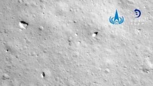 Chang'e 5 sammelt Mondgestein