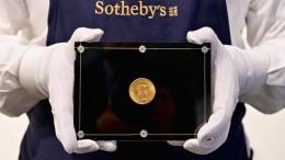 18,9 Millionen für eine Goldmünze