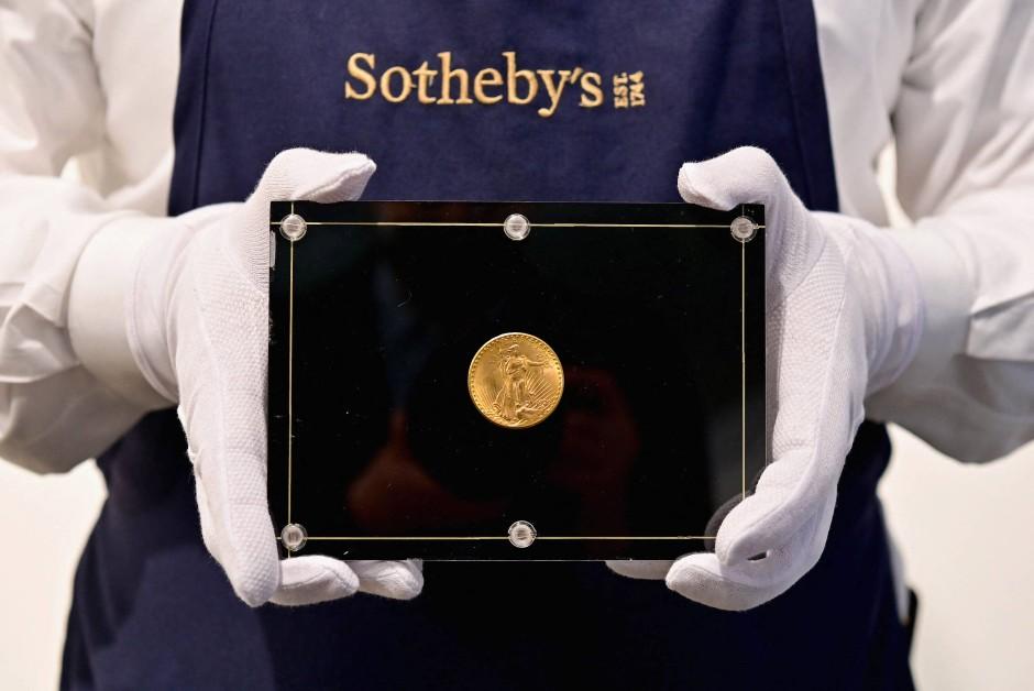 Sammlerstück von Weitzman auf einer Auktion: Die Doppeladler-Münze