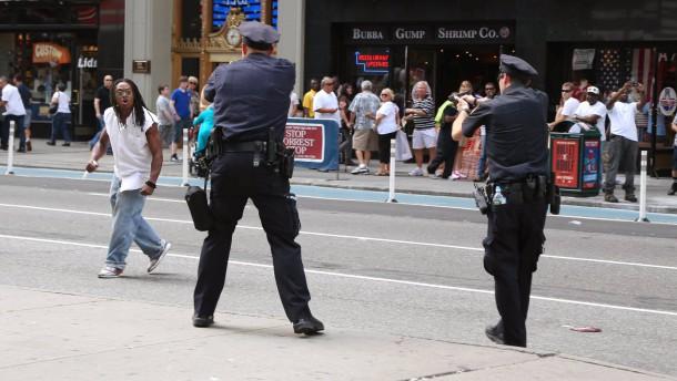 Polizisten erschießen Mann auf Times Square