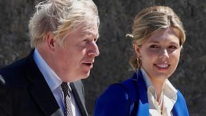 Boris und Carrie Johnson erwarten zweites Kind