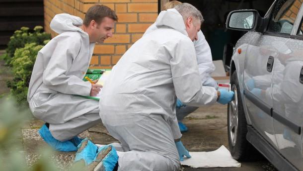 Polizei sucht weitere Leichenteile