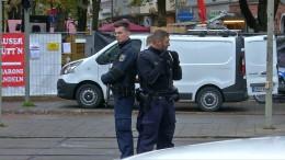 Polizei fahndet mit allen verfügbaren Kräften