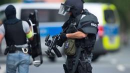 SEK-Einsatz wegen Mann mit Schusswaffe