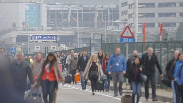 Belgiens größter Flughafen lahmgelegt