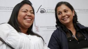 Schwestern finden sich nach 30 Jahren wieder