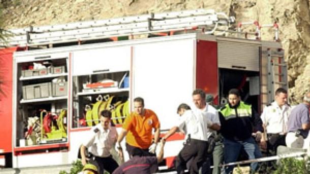 Fünf Tote bei Hubschrauberabsturz