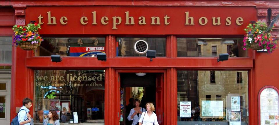 Elephant House: Edinburghs tropfender Kessel