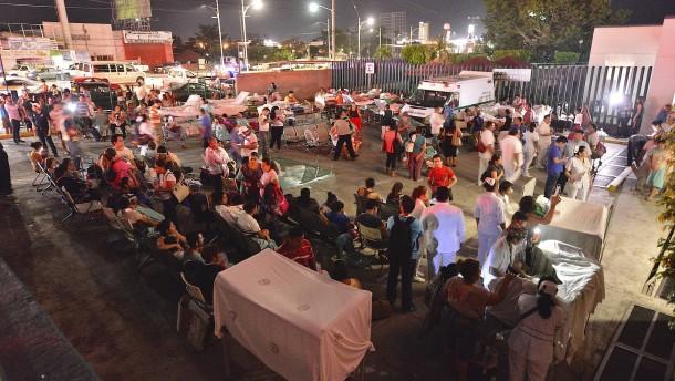 Viele Tote bei schwerstem Beben in Mexiko seit 1932