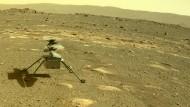 Erstflug von Hubschrauber Ingenuity über dem Mars verschoben