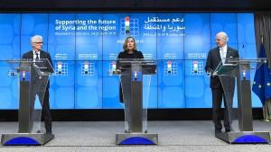 Geberkonferenz zu Syrien bleibt hinter Erwartungen zurück