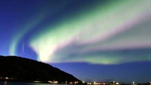 Polarlichter bis nach Tirol