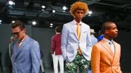 Auch New Yorker Männer sehen aus wie von Gucci