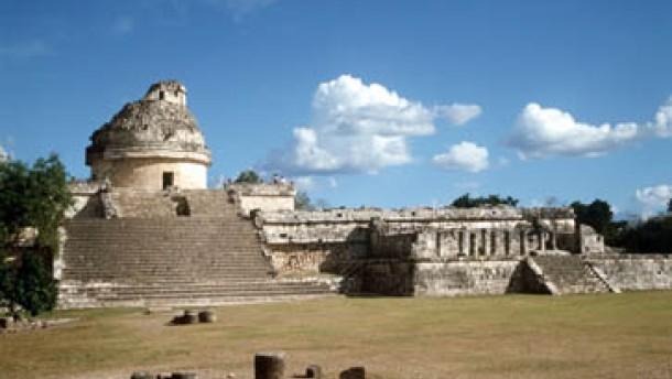 Kurz und trocken: Das Ende der Maya