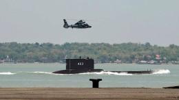 U-Boot mit 53 Seeleuten vor Bali vermisst