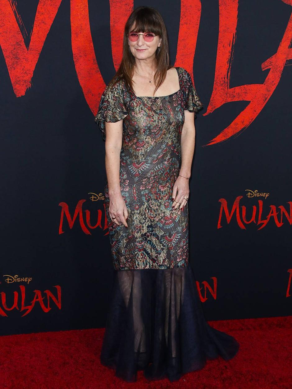 """Kostümbildnerin Bina Daigeler bei der Premiere von """"Mulan"""" im März 2020 in Los Angeles"""