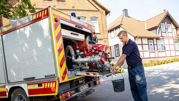 Wasserversorgung in Lauenau bricht zusammen