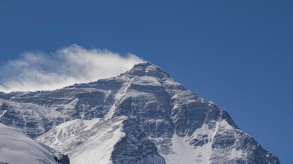 Rund 1000 Menschen halten sich im Basislager am Mount Everest auf.