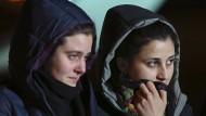 In Syrien freigekommene Italienerinnen wieder in der Heimat