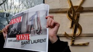 Die umstrittene Saint-Laurent-Werbung wird wohl verboten