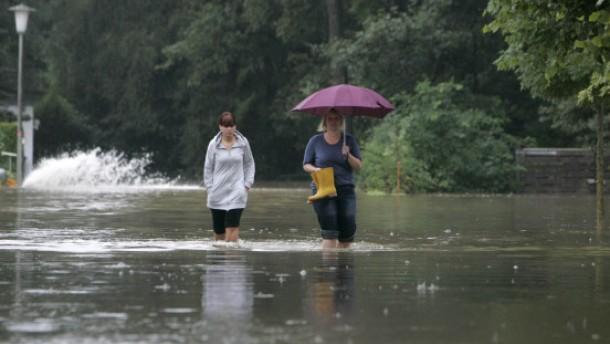 Katastrophenalarm in Westfalen
