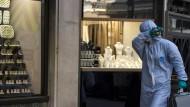 Diebe plündern 300 Schließfächer im Diamantenviertel