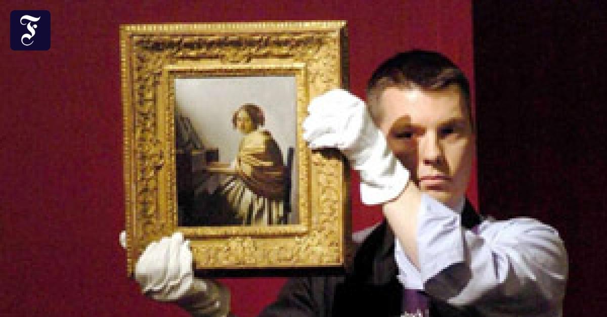 Auktion Letzter Vermeer Erzielt Sensationspreis Gesellschaft Faz