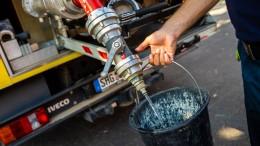 Lauenau hat wieder Wasser – für den Moment
