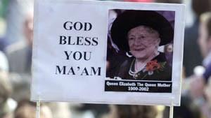 Abschied von Queen Mum