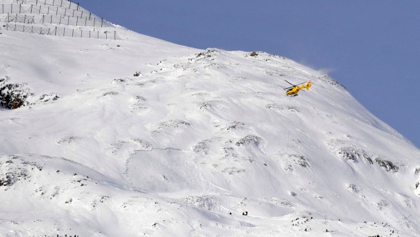 Avalanche supposedly buried one person