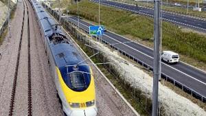 Der Eurostar wird schneller