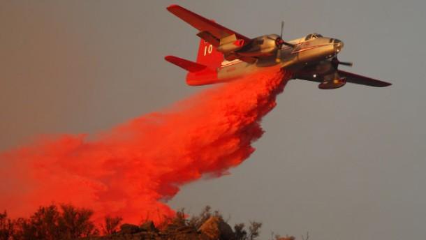 Feuerwehr hat Waldbrand noch nicht unter Kontrolle