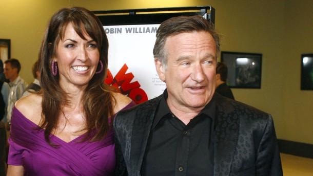 Robin Williams litt an Demenz