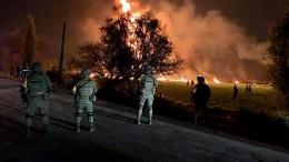 Mindestens 20 Tote bei Brand einer Ölpipeline