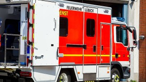 Eine Tote und drei Schwerverletzte bei Brand in Lübecker Pflegeheim