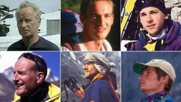 Vier deutsche Bergsteiger sind gerettet worden