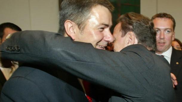 Schröder zu Wowereit: Du hast ein Beispiel gesetzt