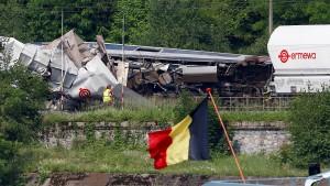 Schweres Zugunglück in Belgien