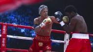 Mickey Rourke feiert Comeback als Boxer