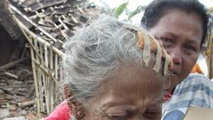 Erdbebenopfer plündern Hilfskonvois