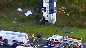 Tödliches Busunglück nach Überfall auf den Fahrer