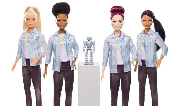 Barbie ist jetzt Robotertechnikerin