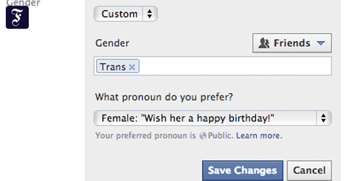 Facebook Benutzerdefiniert