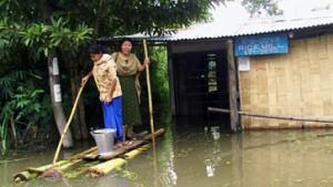 Schwere Unwetter in Indien und Bangladesch