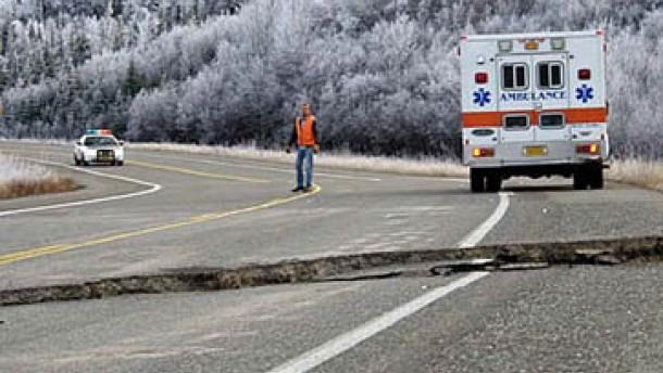 Schweres Beben in Alaska